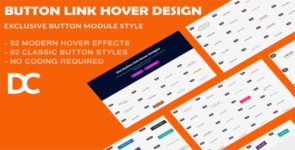 Divi Button Link Hover Designs on Divi Cake