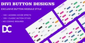 Creative Divi Button Module Designs on Divi Cake