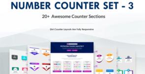 Divi Number Counter – Set 3 on Divi Cake
