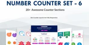 Divi Number Counter – Set 6 on Divi Cake