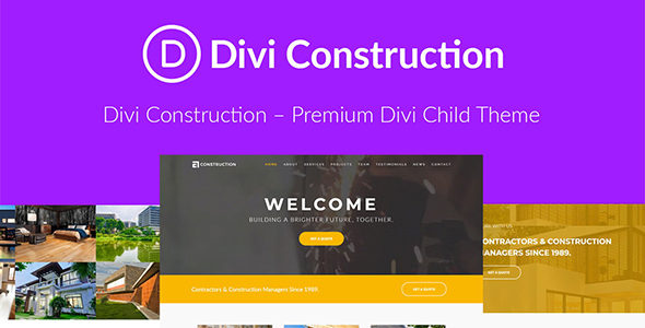 Divi Construction on Divi Cake