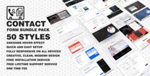 Divi Contact Form Bundle Pack on Divi Cake