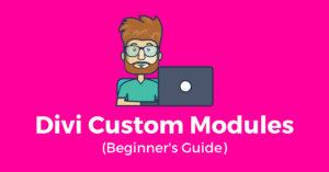 Divi Custom Modules (Beginner's Guide)
