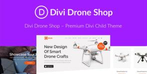 Drone Shop on Divi Cake