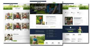 DIVI Landscaping Multi-Page Theme on Divi Cake