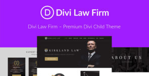 Law Firm on Divi Cake