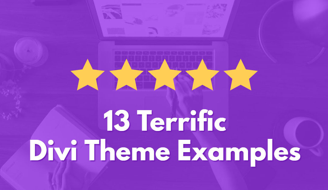 13 Terrific Divi Theme Examples (2017)