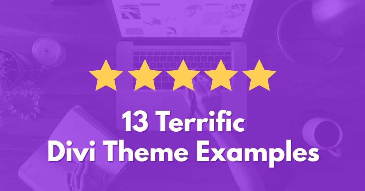 13 Terrific Divi Theme Examples (2017)
