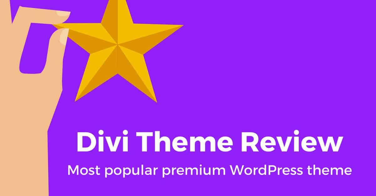 Divi Theme Review (Best WordPress Theme)