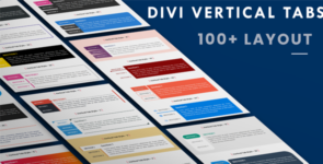 Vertical Tabs Layout Pack (1 to 100 Layout) on Divi Cake