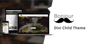 Bonjour – Divi Child Theme on Divi Cake