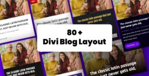 Divi Blog Layout on Divi Cake