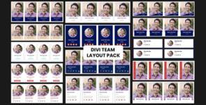 Divi Team Layout Pack on Divi Cake