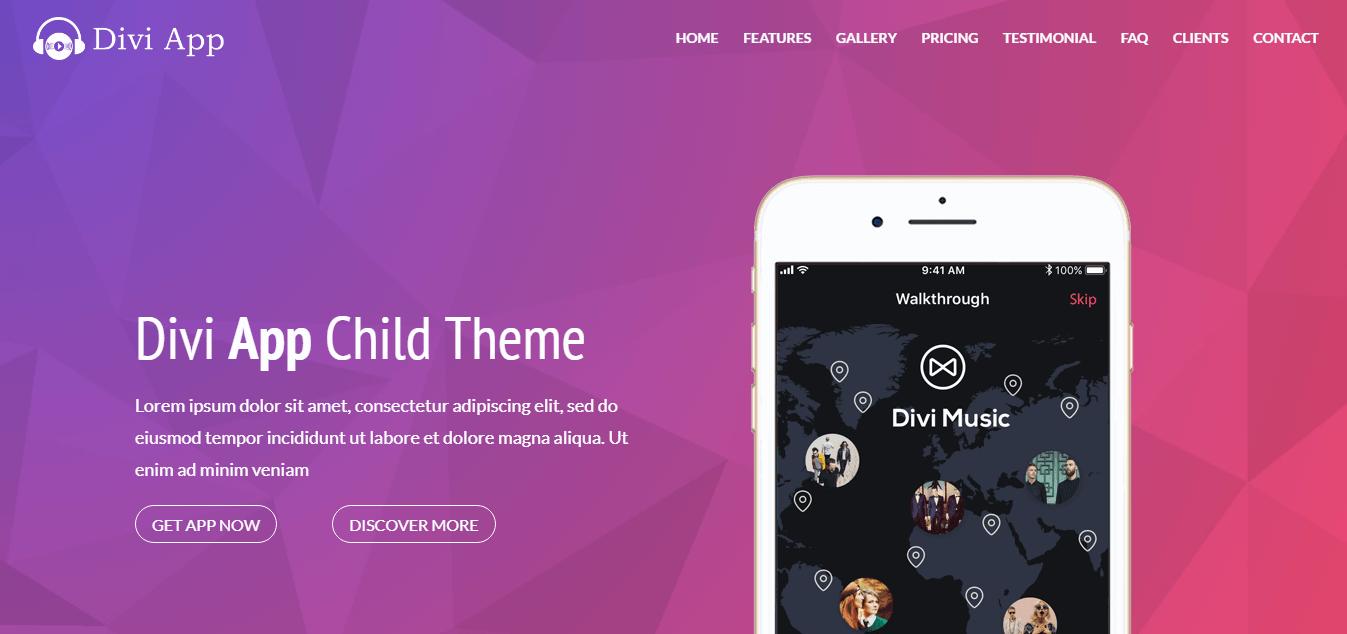 Divi App Child Theme
