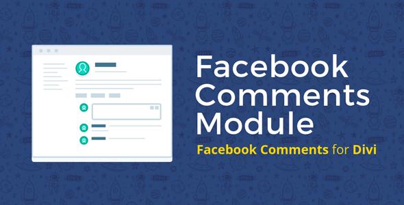 Facebook Comments Module on Divi Cake