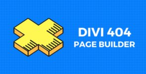 Divi 404 Page Builder on Divi Cake