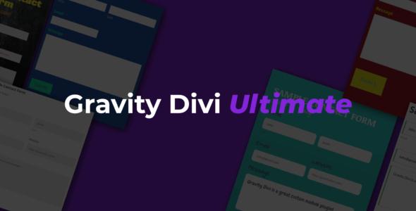 Gravity Divi Ultimate on Divi Cake