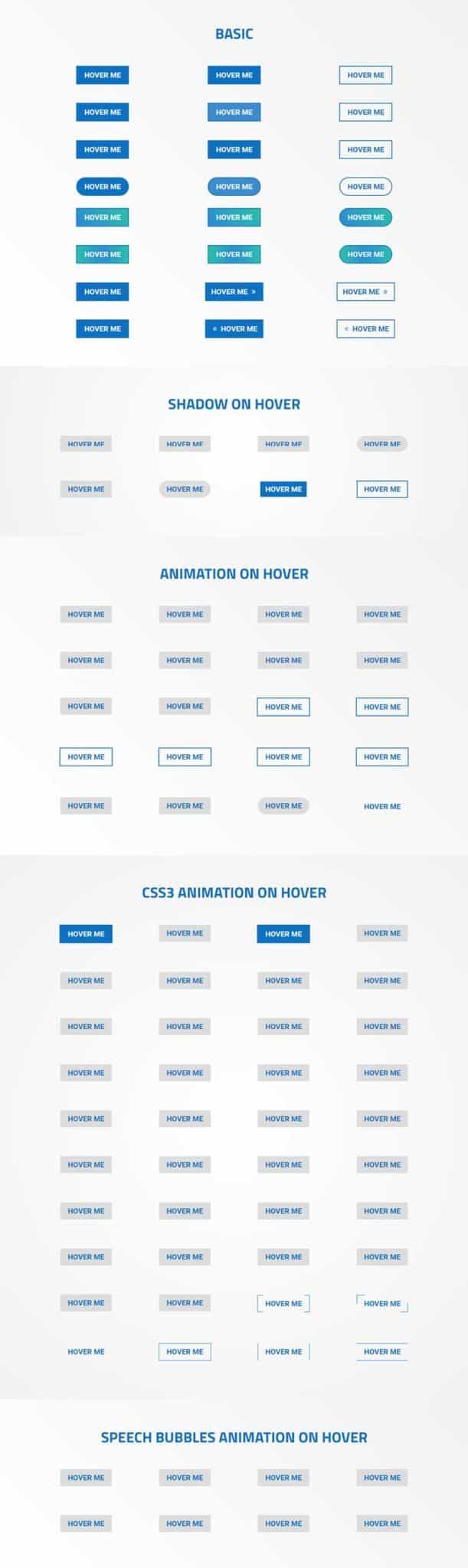 Divi Button Designs