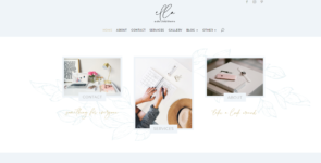 Ella – Feminine Service Business Divi Layout Pack on Divi Cake