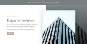ET-Architecture Firm on Divi Cake