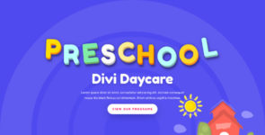 ET-Day Care on Divi Cake