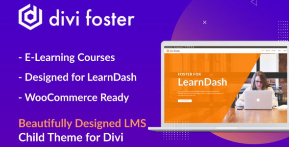 Foster for LearnDash LMS on Divi Cake