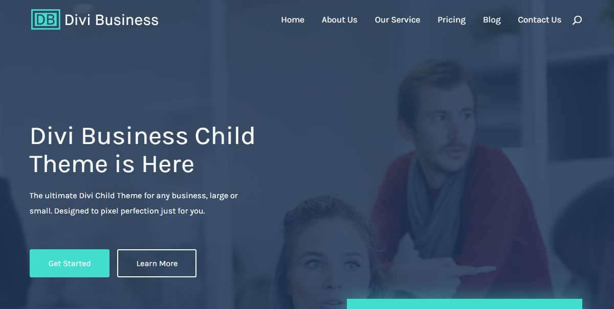 Free Divi Business Child Theme Image