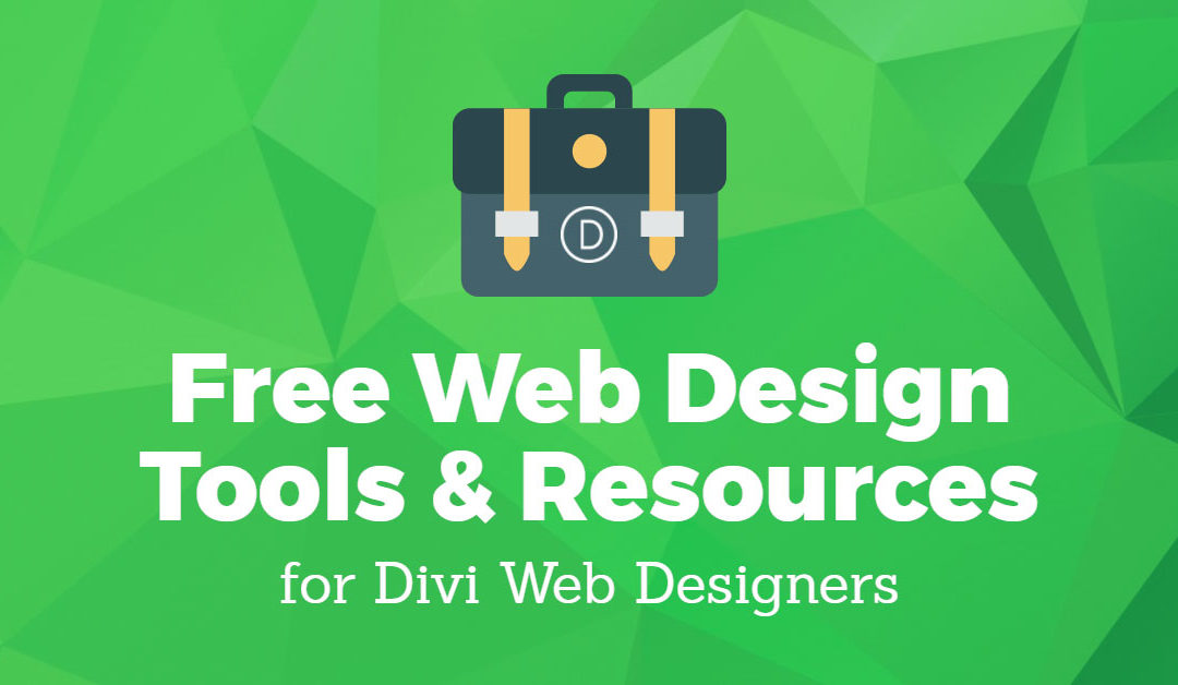 Free Web Design Tools and Resources for Divi Web Designers