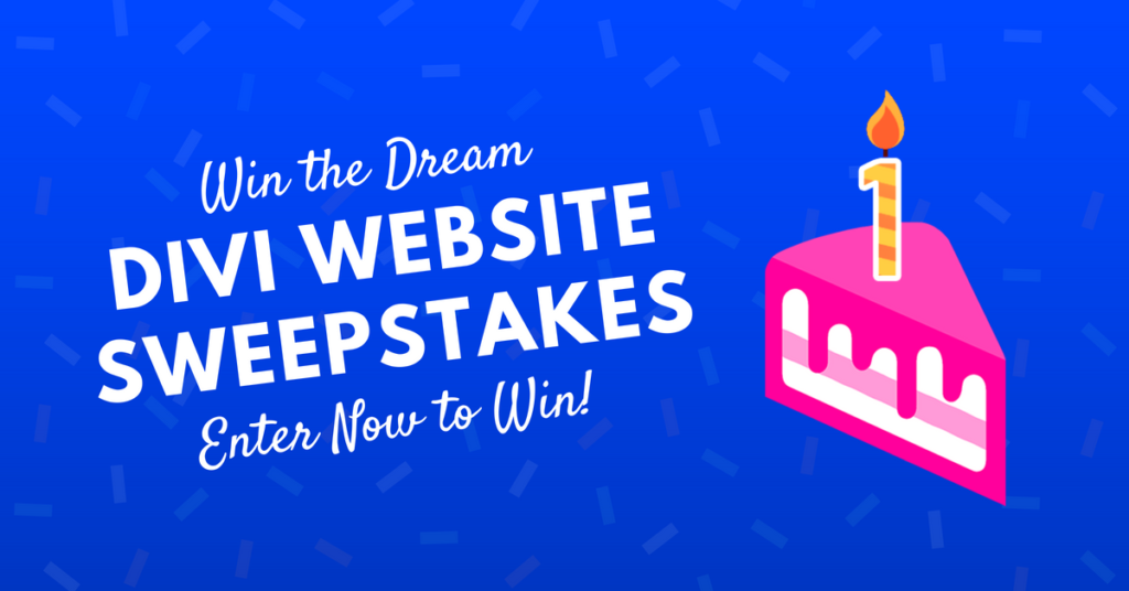 Divi Dream Website Giveaway