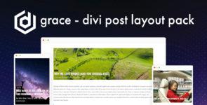 Grace – Divi Post Layout Pack on Divi Cake