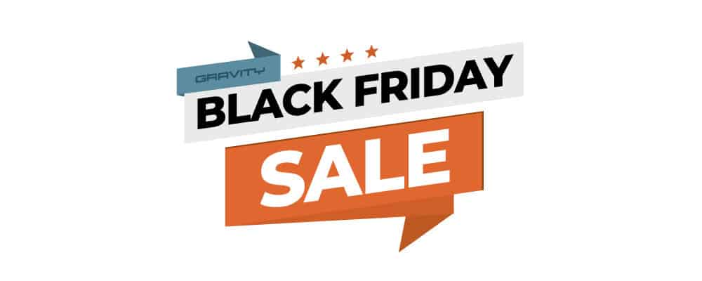 Gravity Forms Black Friday Deal 2018