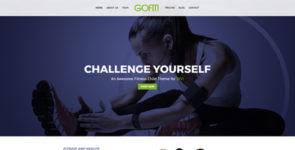 GYM & Fitness by DiviPug on Divi Cake