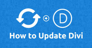 How to Update the Divi Theme