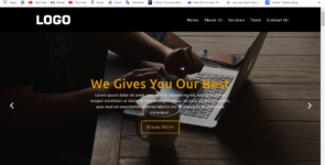 MTH Landing Home Page Layout on Divi Cake