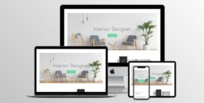Interior Designer Divi Layout in 2 color schemes on Divi Cake