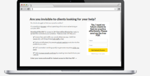 Professional and Authentic Landing Page Optin on Divi Cake