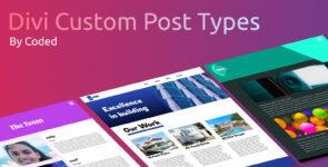 Divi Custom Post Types V2 on Divi Cake