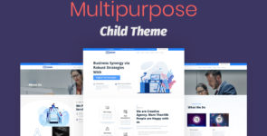 Multipurpose Divi Child Theme on Divi Cake