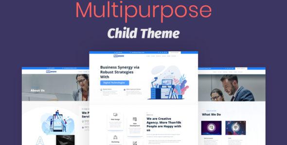 Multipurpose Divi Child Theme on Divi Cake