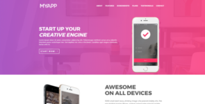 MyApp | Startups and App on Divi Cake