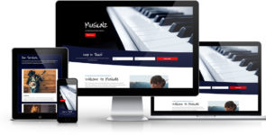 Musicalz Divi Layout Pack on Divi Cake