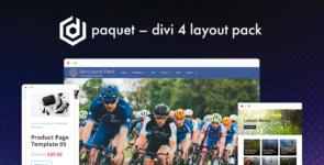 Paquet – Divi 4 Layout Pack on Divi Cake