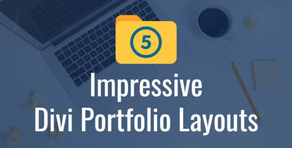 Featured image for Impressive Divi Portfolio Layouts
