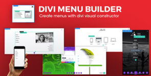 Divi Menu Builder on Divi Cake