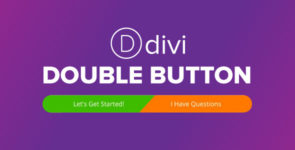 Divi Double Button on Divi Cake