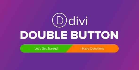 Divi Double Button on Divi Cake