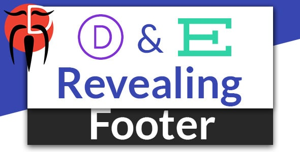 Revealing Footer for Divi and Extra on Divi Cake
