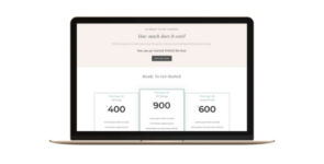 Sales Page on Divi Cake