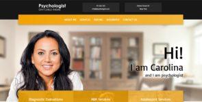 Psychologist on Divi Cake