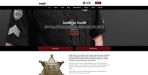 Online Candidate Sheriff Theme on Divi Cake